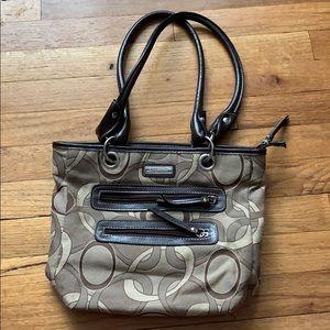 Tan/brown Rossetti purse